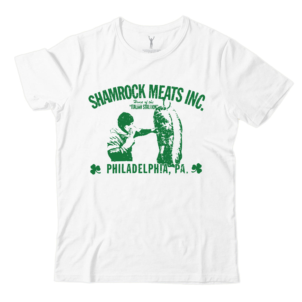 Shamrock Meats White Tee
