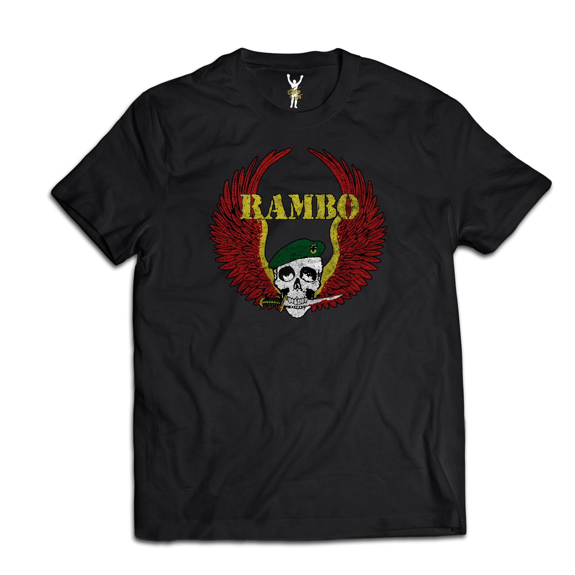 Rambo Cast & Crew Black Tee