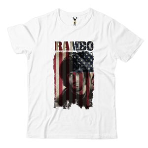 First Blood American Flag Tee