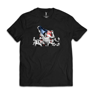 Rocky IV Celebration Flag Tee