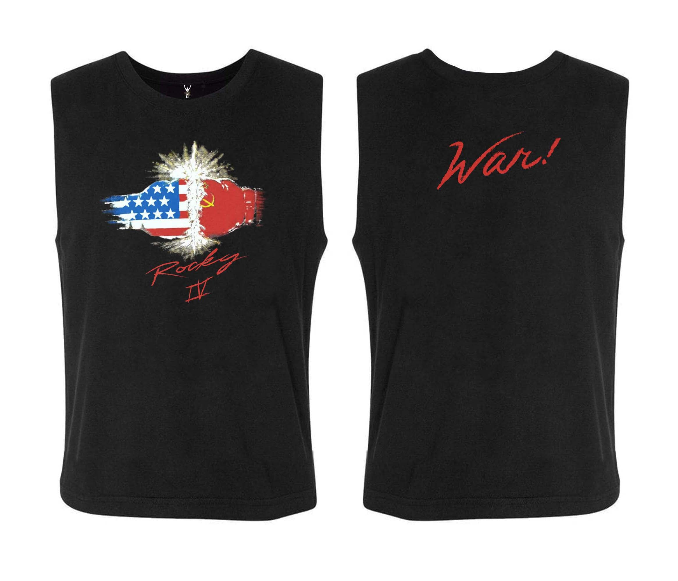 "Rocky IV ""WAR!"" Sleeveless Tee"