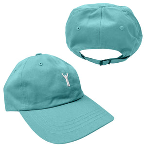Rocky Statue Dad Hat Diamond Blue