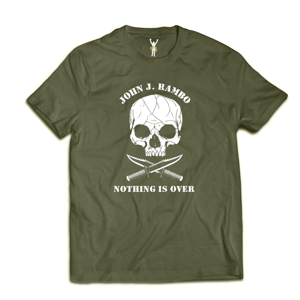 Nothing Is Over Military Green Tee