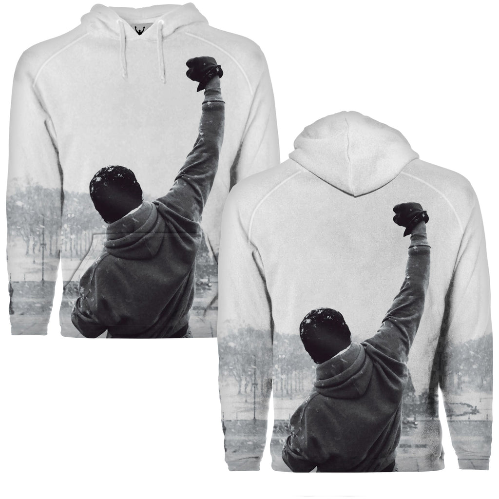 Rocky Steps Sublimation Pullover Hoodie