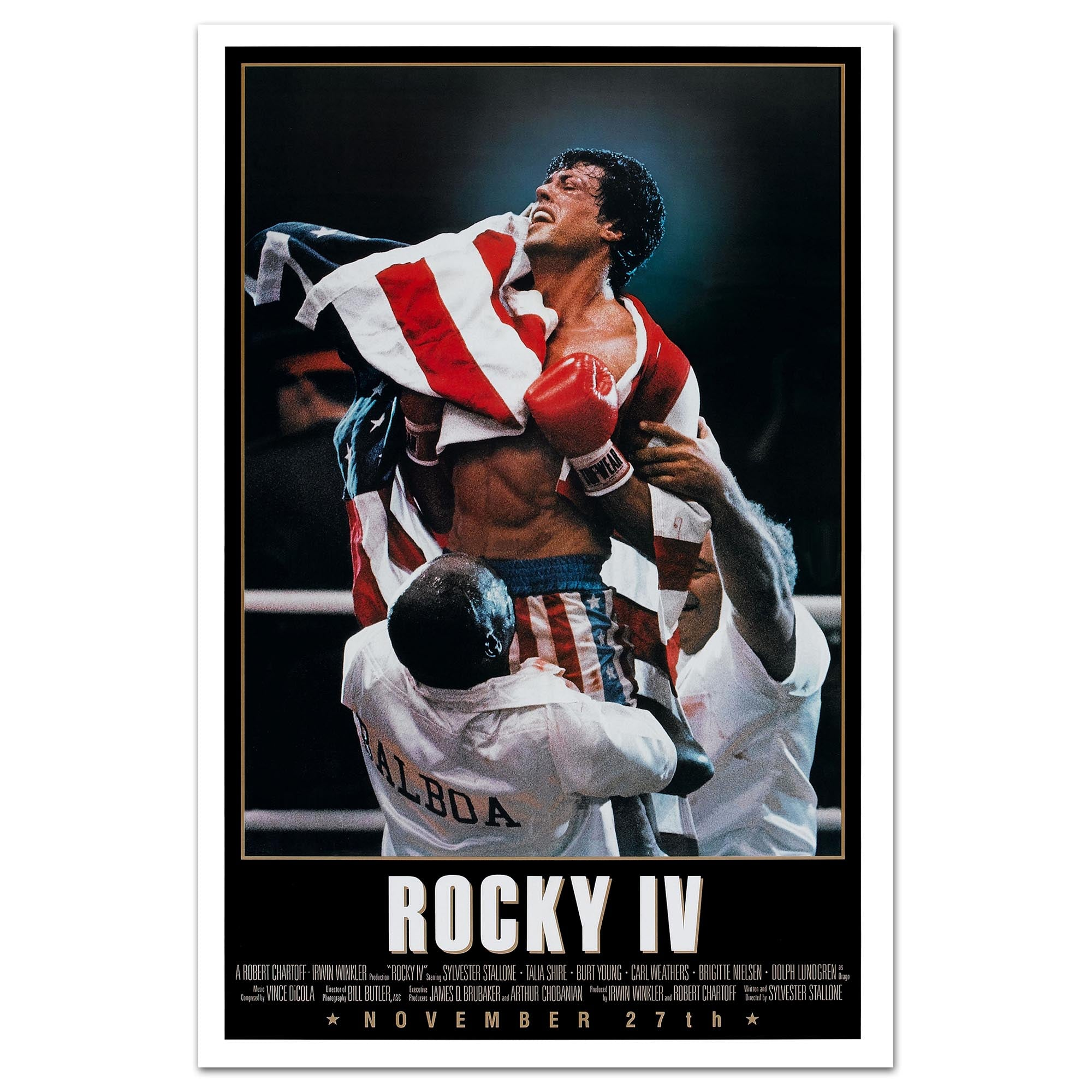 "Rocky IV 24"" x 36"" Movie Poster"