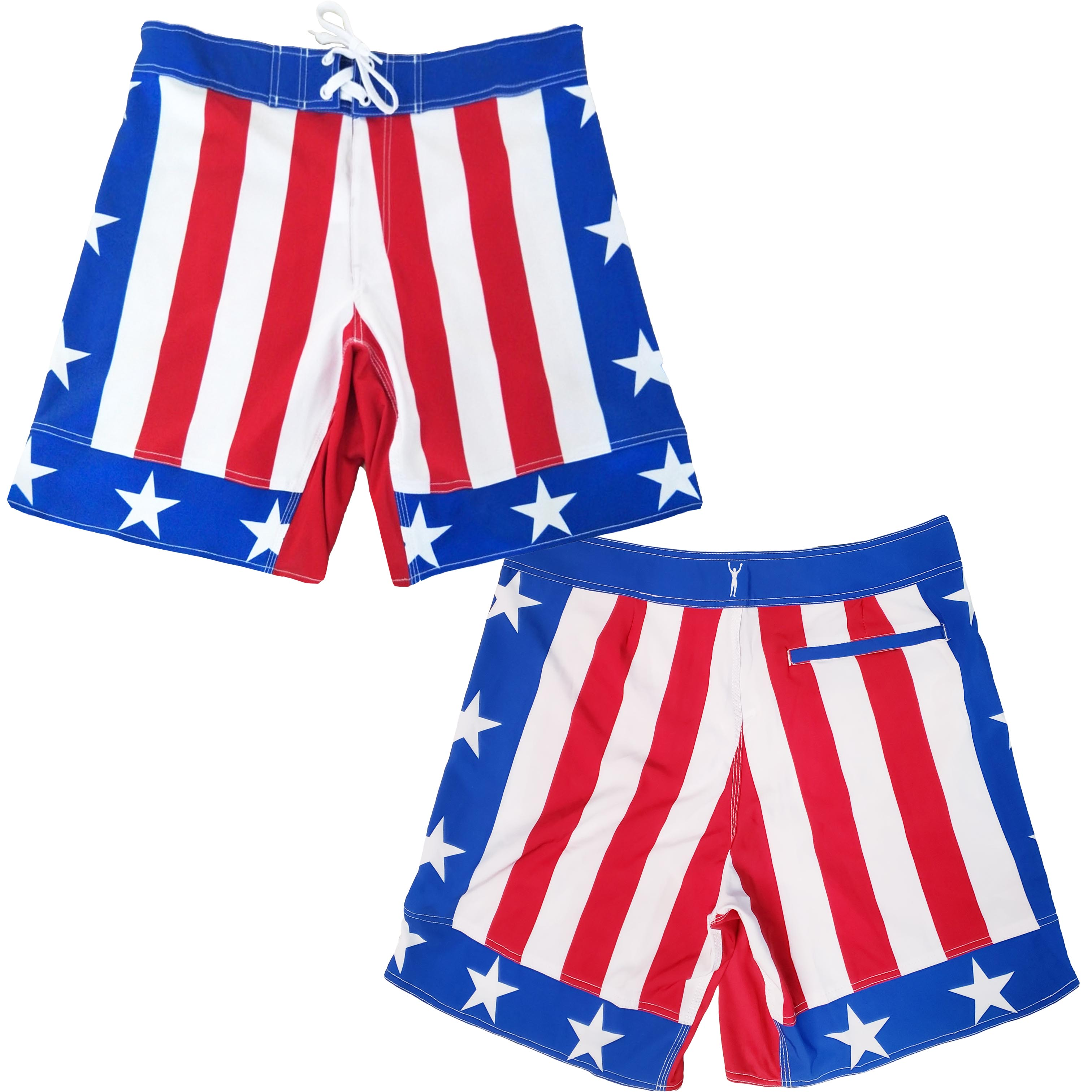 Rocky III Stars And Stripes Board Shorts