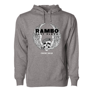 RAMBO LAST BLOOD Cast & Crew Pullover Hoodie