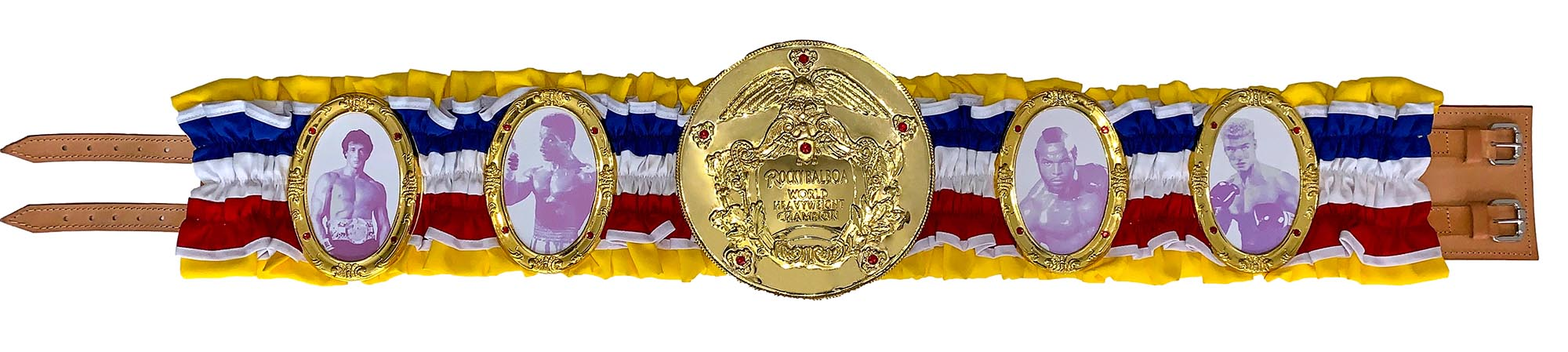Rocky Balboa World Heavyweight Championship Belt