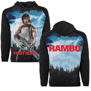 FIRST BLOOD Sublimation Pullover Hoodie