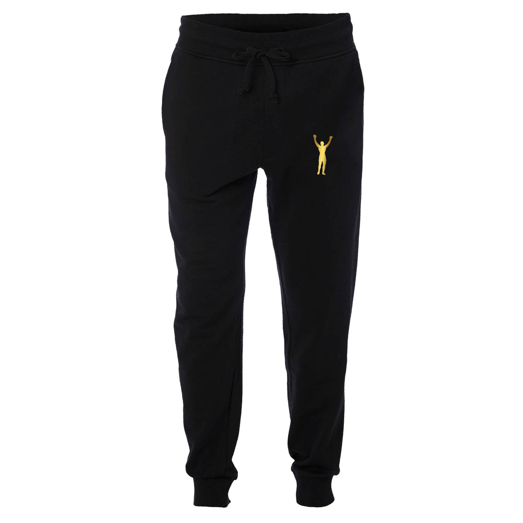 Rocky Statue Metallic Gold Jogger Sweatpants