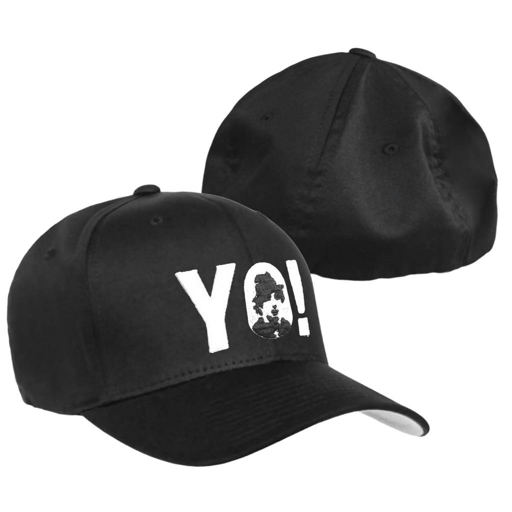 YO! Black Flexfit Hat