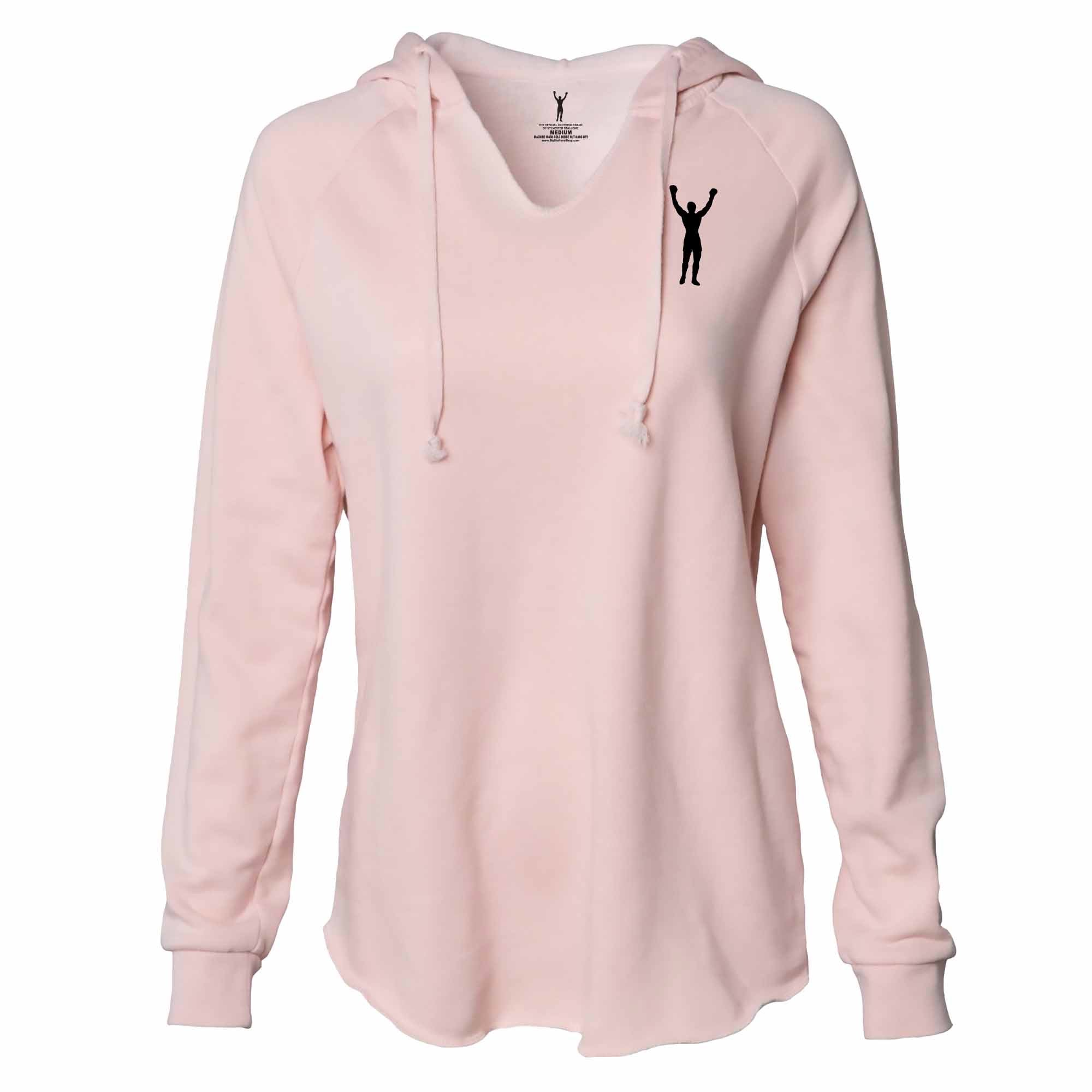 Women's Rocky Statue Blush Pullover Hoodie