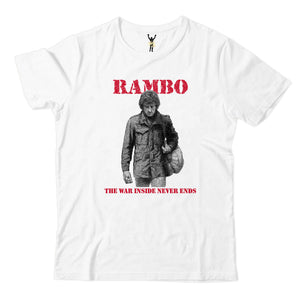 "RAMBO ""The War Inside Never Ends"" Tee"