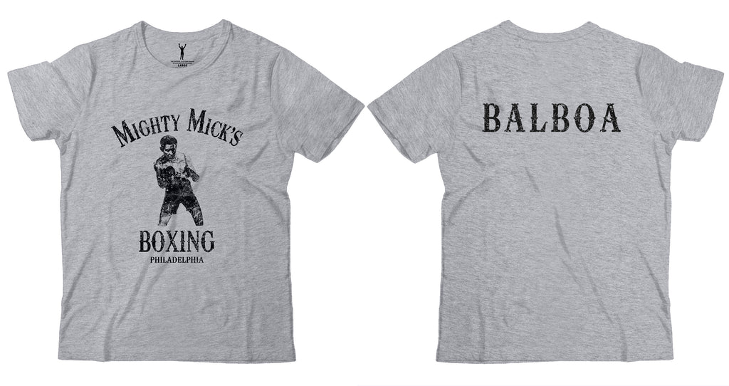 Mighty Mick's Boxing Balboa Tee