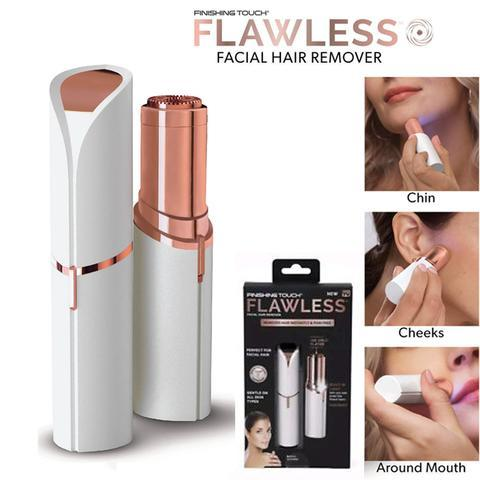 REMOVES UNWANTED HAIR IN SECONDS!Painless Flawless Hair Remover