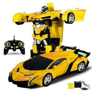 😍Only $19.99😍Best Choice Gift Toy For Kid With Beautiful Gift Pack RC Transformer Car[Get Second at 50% OFF]
