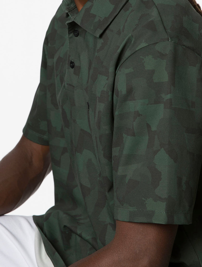 Army Green USC Camo Polo