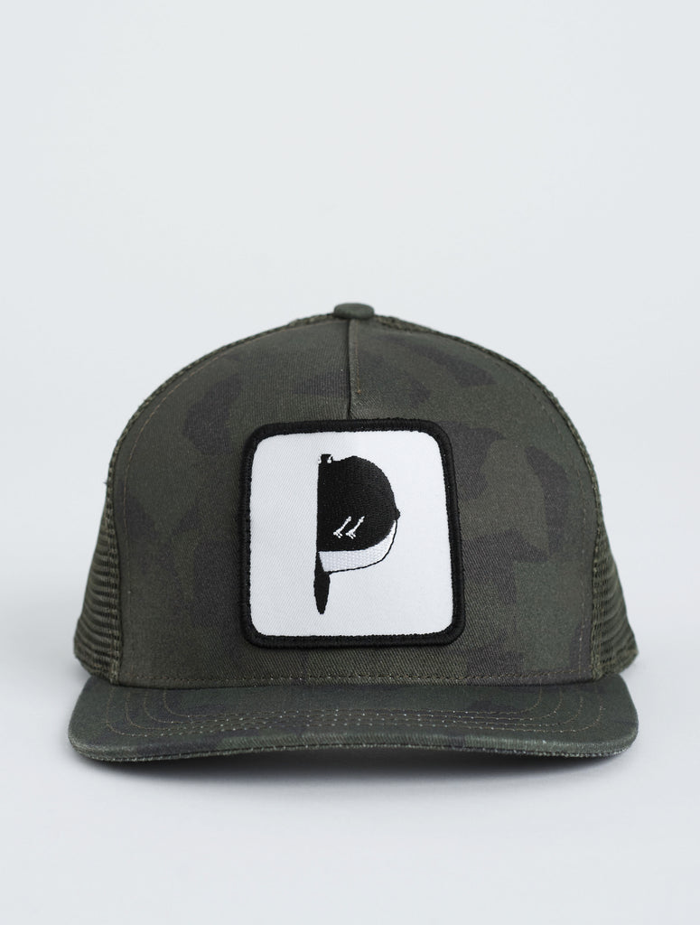 ARMY GREEN USC TRUCKER