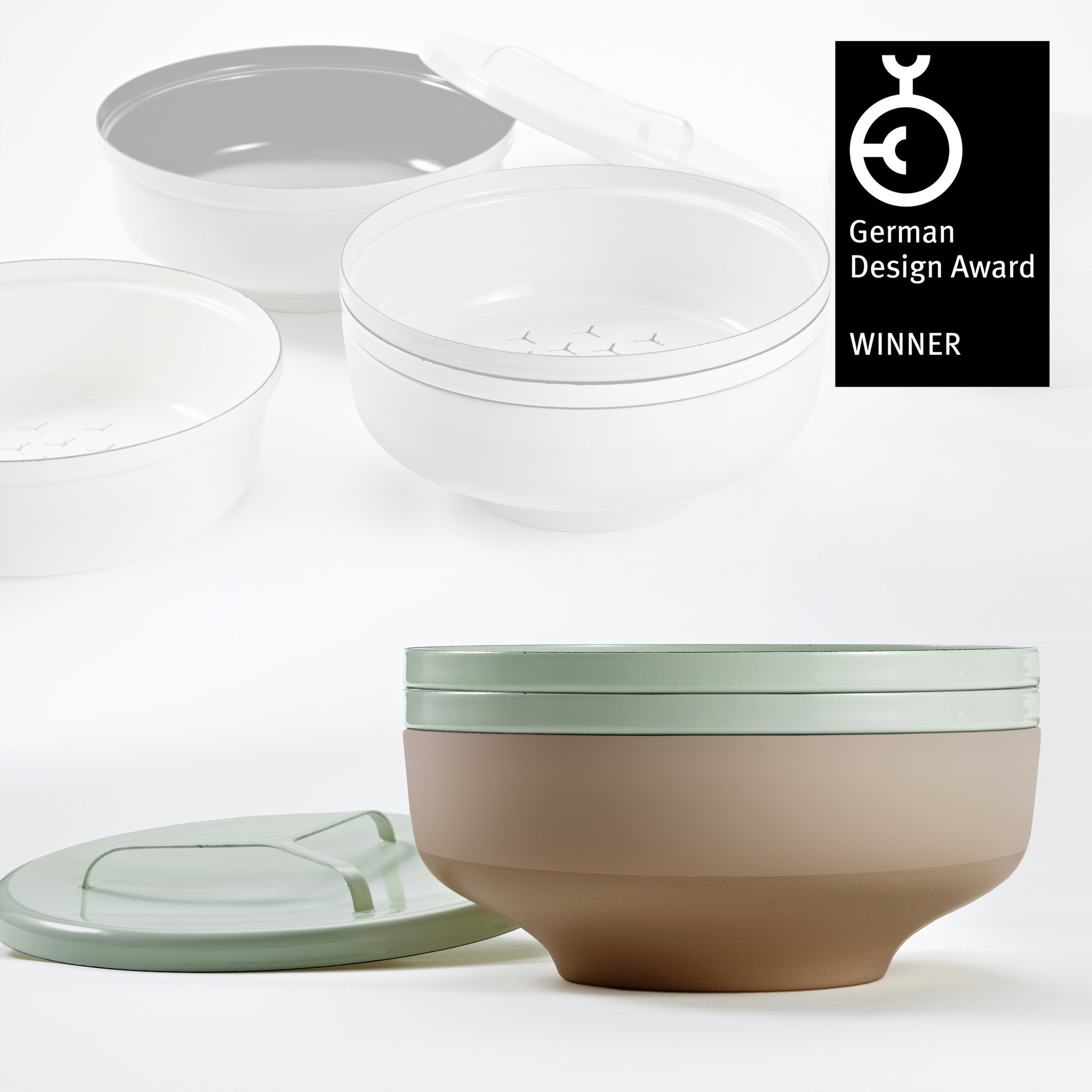 EVA bowl set - Grey Green