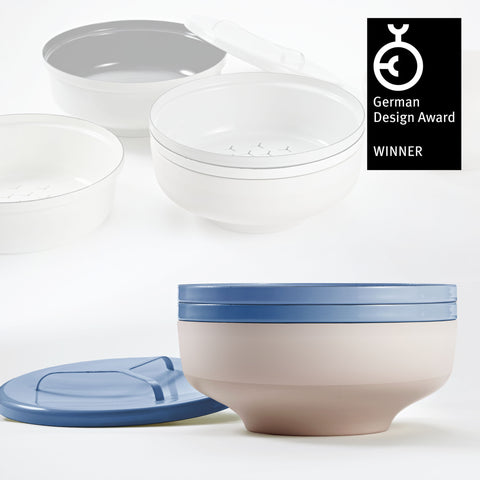EVA bowl set - Petrol Blue