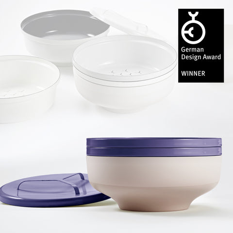 EVA bowl set - Plum