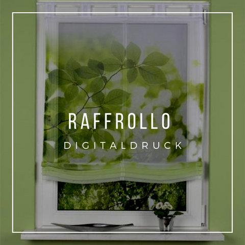 Raffrollo Digitaldruck