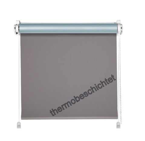 Mini Klemmfix Thermo Rollo anthrazit