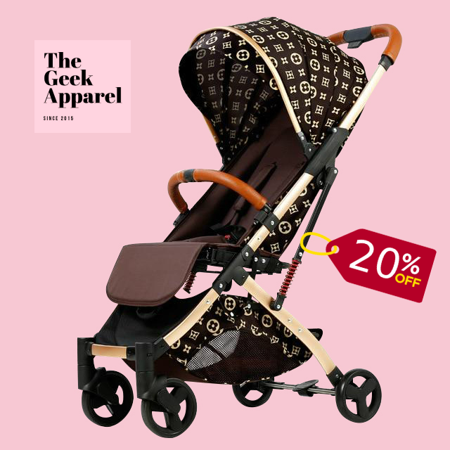 LV™ 3-in-1 Baby Stroller • (6 kg/13 lbs) - Limited Edition 👶🍼 - The Geek Apparel