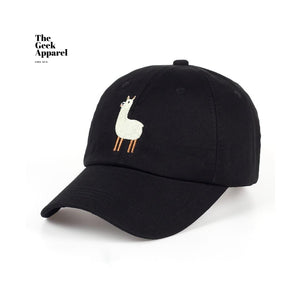 Adjustable Lonely Alpaca Baseball Cap