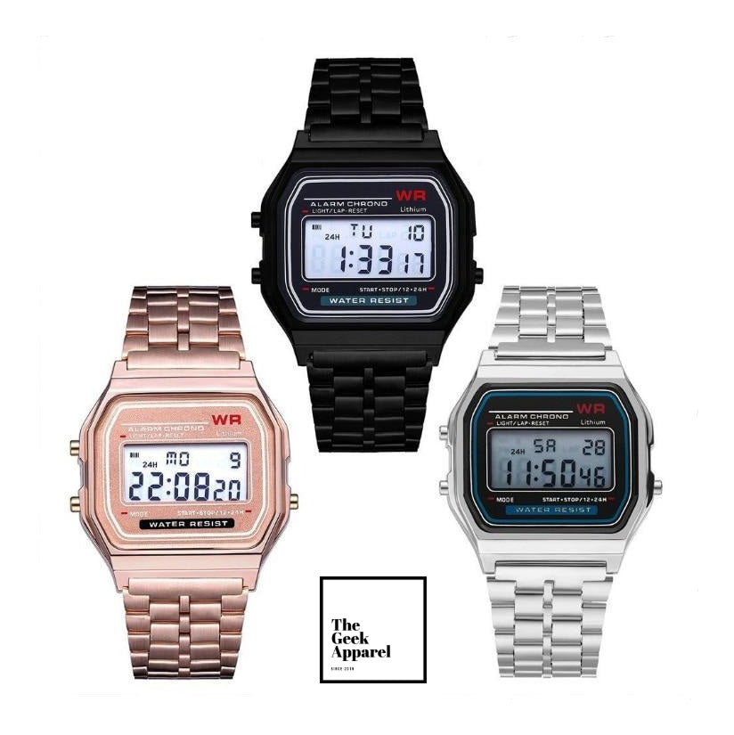 Retro Digital Watch ⌚