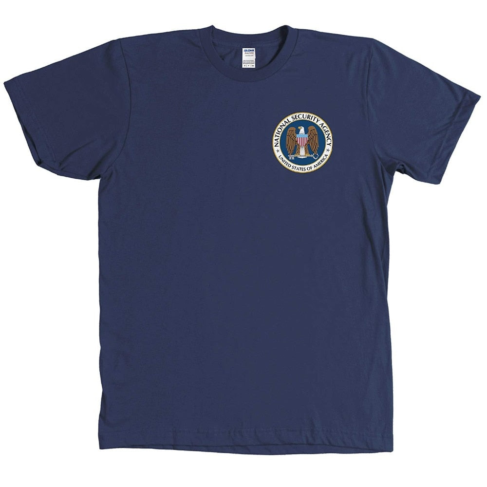 NSA National Security Agency Seal Tee-Shirt - PRISM - The Geek Apparel
