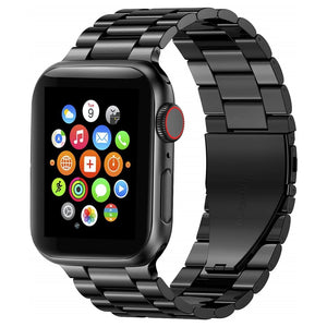 Solid Stainless Steel Apple Watch Wristband Compatible w/ Series 5/4/3/2/1 📲⌚