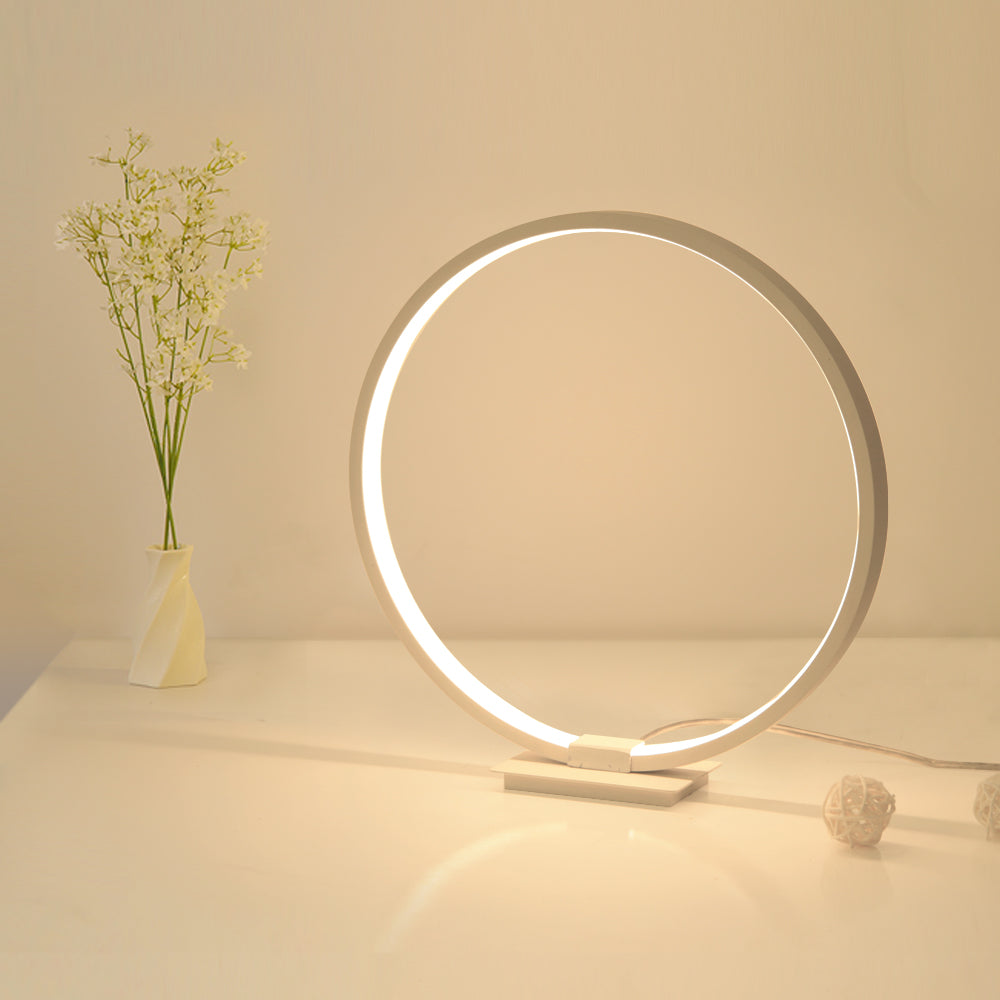 Minimalist & Modern 360° LED Lamp for Office & Room ⚫⚪💡