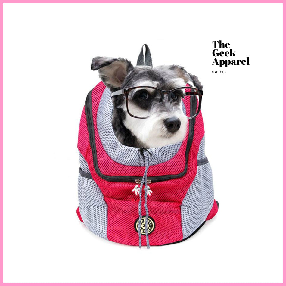 Pet Travel Backpack for Cats & Dogs 🎒 - The Geek Apparel