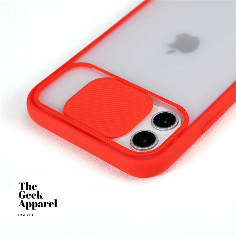 Slide Camera Case For iPhones 📲 - The Geek Apparel