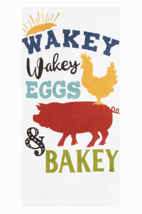 Wakey Wakey Kitchen Towel