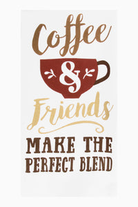 Coffee and Friends Kitchen Towel