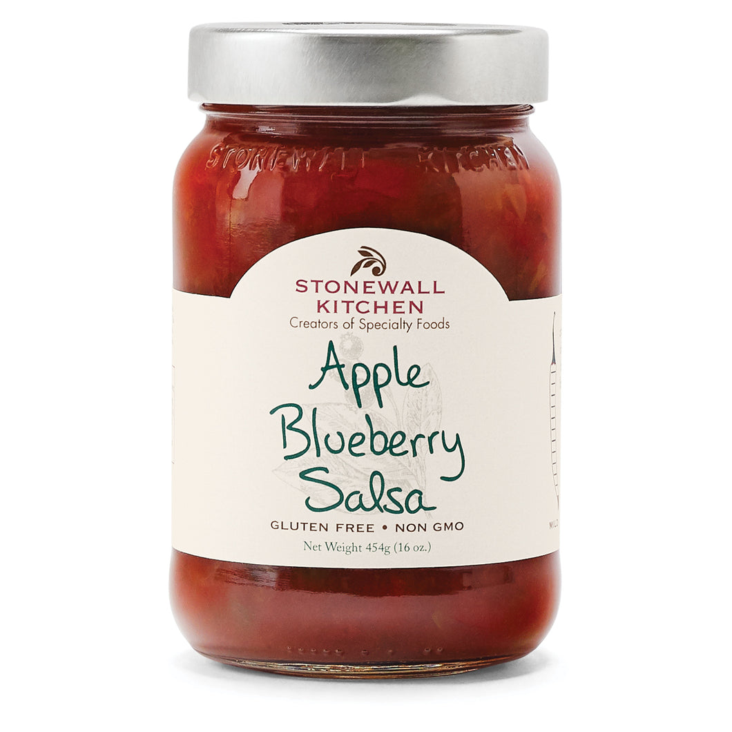 Apple Blueberry Salsa
