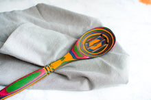 Load image into Gallery viewer, Pakka Wood- Rainbow Slotted Spoon