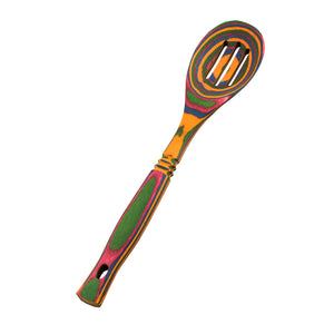 Pakka Wood- Rainbow Slotted Spoon