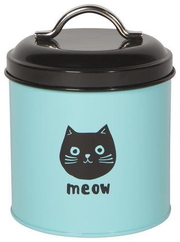 Cat Treat Tin - Cats Meow