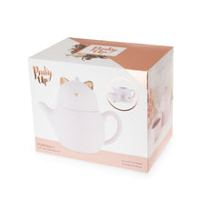 Load image into Gallery viewer, PURRRCY™ CAT Tea for One, Set by PINKY UP®