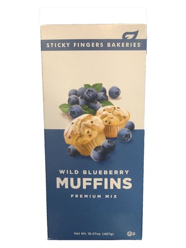 Wild Blueberry Premium Muffin Mix