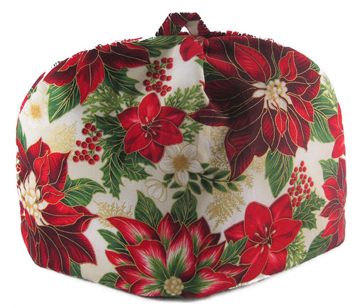 Classic Tea Cozy Painted Poinsettia (6/8 Cup)