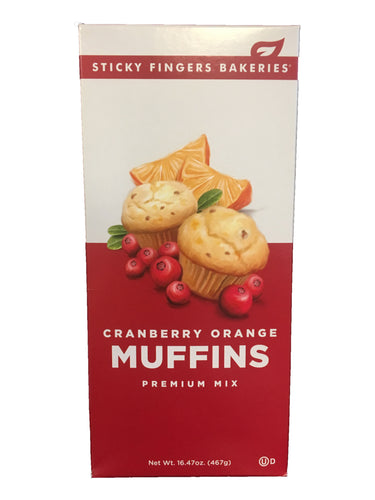 Cranberry Orange Premium Muffin Mix