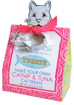 Make Your Own Catnip & Tuna Cat Treats