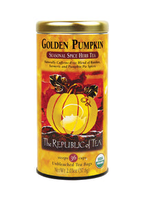Organic Golden Pumpkin Tea Bags
