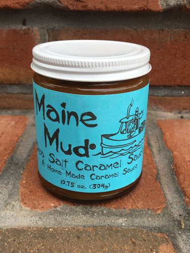 Maine Mud - Sea Salt Caramel Sauce
