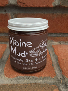 Maine Mud -Chocolate Sea Salt  Caramel Sauce