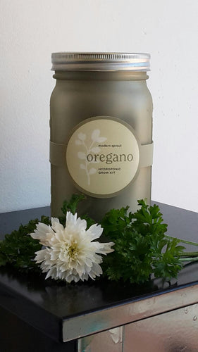 Oregano- Herb Garden Jar